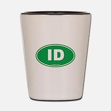 Idaho ID Euro Oval Shot Glass