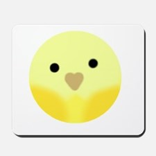 Yellow Parakeet Mousepad