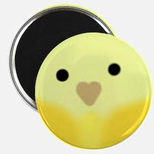 Yellow Parakeet Magnets
