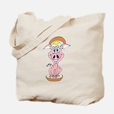 Pork Roll, Egg & Cheese Pig Tote Bag
