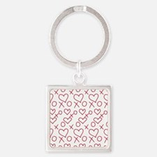 xoxo Heart Red Keychains