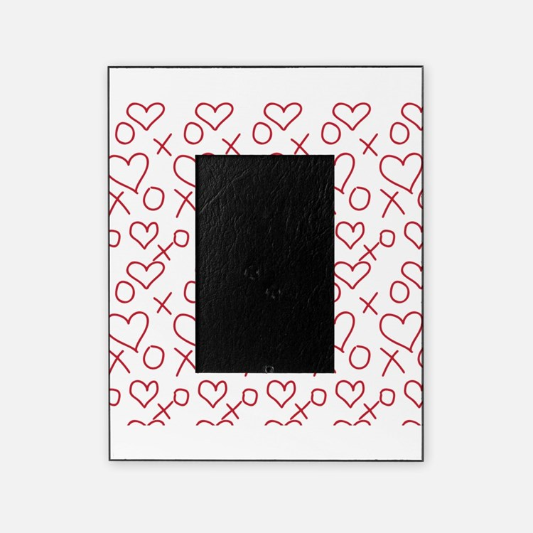 xoxo Heart Red Picture Frame