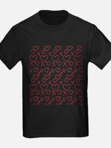 xoxo Heart Red T-Shirt