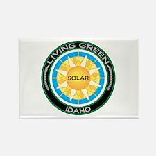 Living Green Idaho Solar Energy Rectangle Magnet