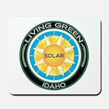 Living Green Idaho Solar Energy Mousepad
