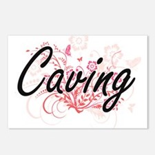 Caving Artistic Design wi Postcards (Package of 8)