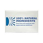 100% Natural Rectangle Magnet (100 pack)
