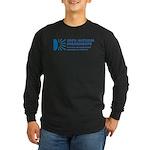 100% Natural Long Sleeve Dark T-Shirt