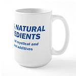100% Natural Large Mug