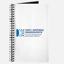 100% Natural Journal