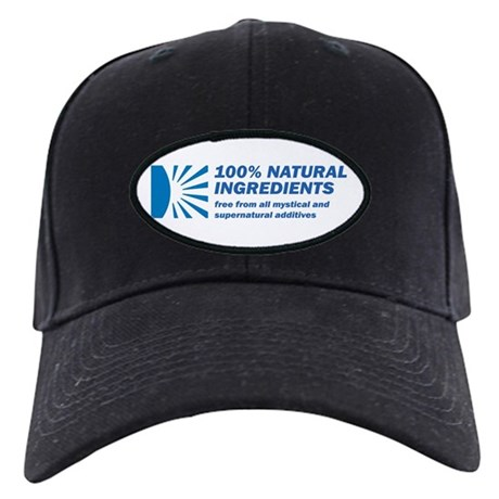 100% Natural Black Cap