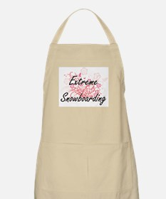Extreme Snowboarding Artistic Design with Fl Apron