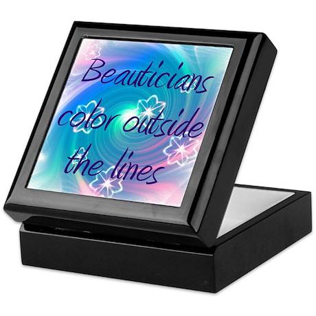 Beautician Keepsake Box