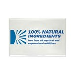100% Natural Rectangle Magnet (10 pack)