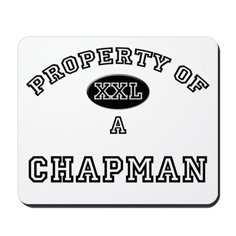 Property of a Chapman Mousepad