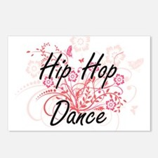 Hip Hop Dance Artistic De Postcards (Package of 8)