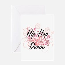 Hip Hop Dance Artistic Design with Greeting Cards
