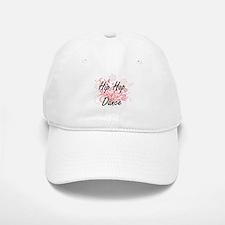 Hip Hop Dance Artistic Design with Flowers Baseball Baseball Cap