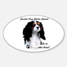 CKCS Breed Oval Decal
