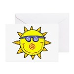 Happy Sun Greeting Cards (Pk of 10)