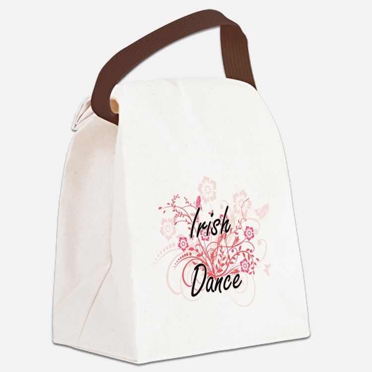 Irish Dance Artistic Design with Canvas Lunch Bag