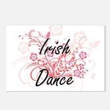 Irish Dance Artistic Desi Postcards (Package of 8)