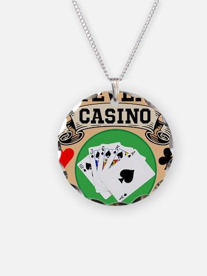 Personalized Casino Necklace