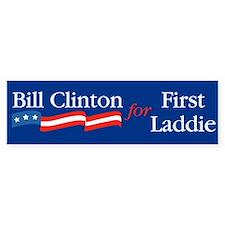 Bill First Laddie Bumper Bumper Sticker