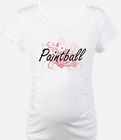 Paintball Artistic Design with F Shirt