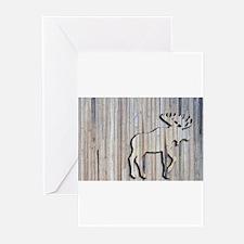 Cute Moose Greeting Cards (Pk of 10)