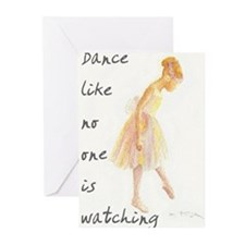 Funny Ballet Greeting Cards (Pk of 20)