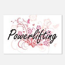 Powerlifting Artistic Des Postcards (Package of 8)