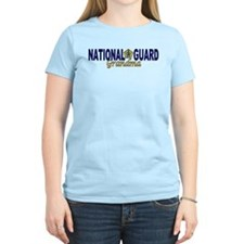 National Guard Grandma Women's Pink T-Shirt
