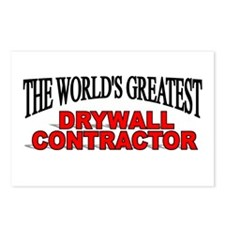 """""""The World's Greatest Drywall Contractor"""" Postcard"""