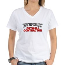 """""""The World's Greatest Drywall Contractor"""" Shirt"""