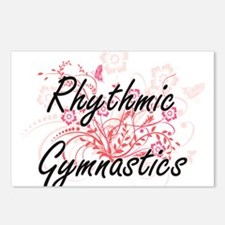 Rhythmic Gymnastics Artis Postcards (Package of 8)