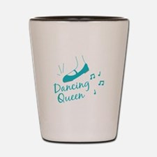 Dancing Queen Shot Glass