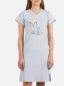 All Ears Bunny Women's Nightshirt