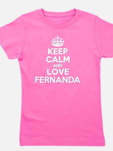 Cute Fernanda Girl's Tee