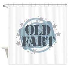 Old Fart Shower Curtain