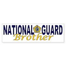 National Guard Brother Bumper Bumper Sticker