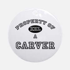 Property of a Carver Ornament (Round)