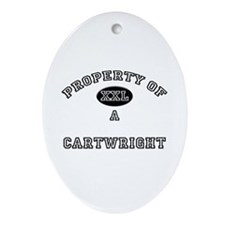 Property of a Cartwright Oval Ornament