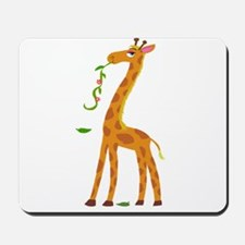 Sweet Giraffe Mousepad