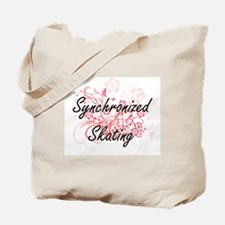 Synchronized Skating Artistic Design with Tote Bag