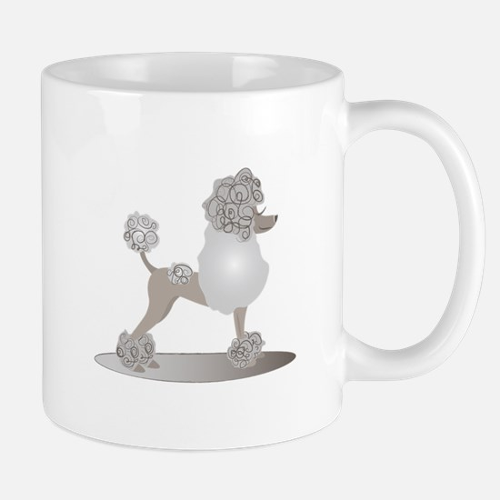 French Poodle Mugs