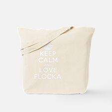 Unique Flocka Tote Bag