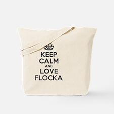 Cute Flocka Tote Bag