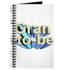 Gran-to-be 3D text Journal