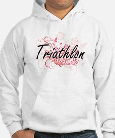 Cute Triathlon designs Hoodie